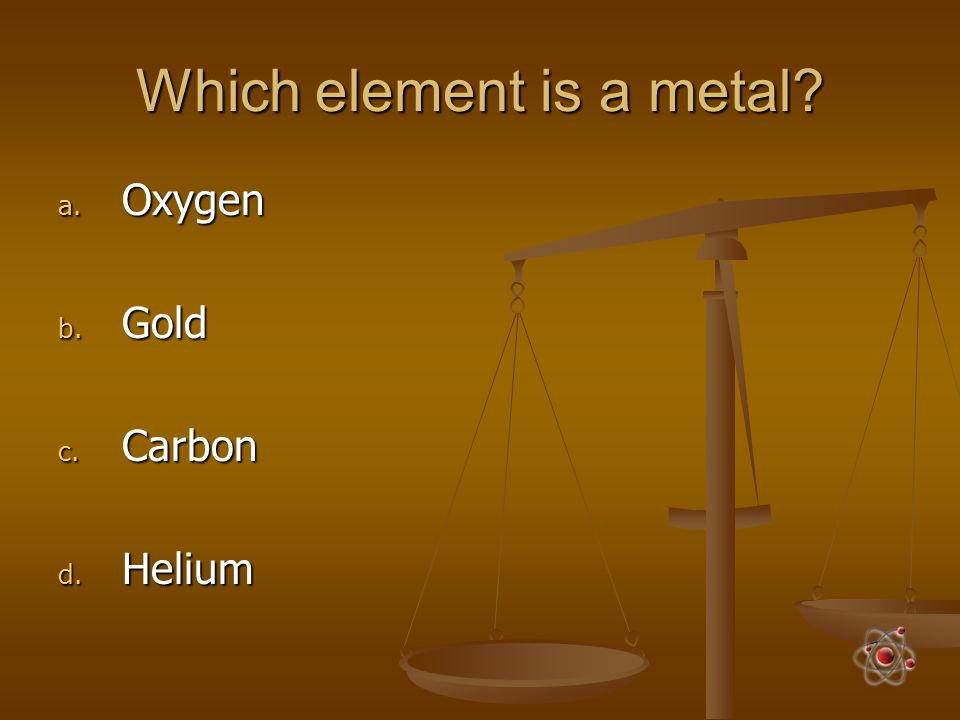 Which element is a metal