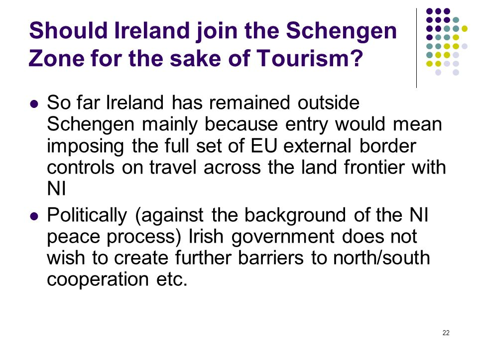 Should Ireland join the Schengen Zone for the sake of Tourism