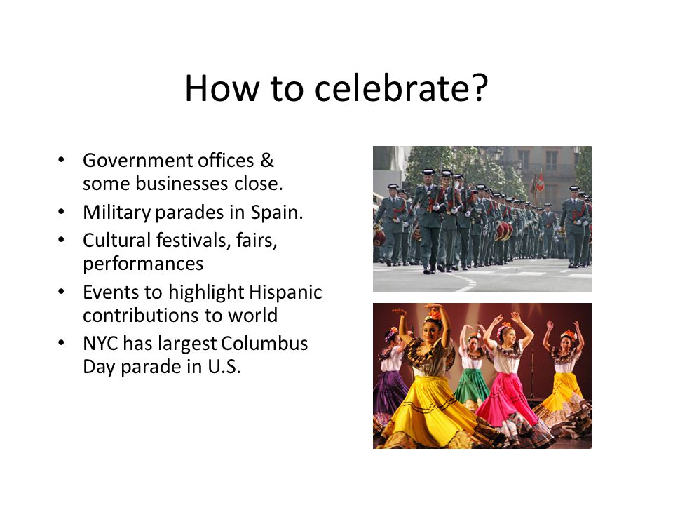 How to celebrate Government offices & some businesses close.