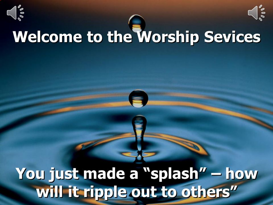 You just made a splash – how will it ripple out to others