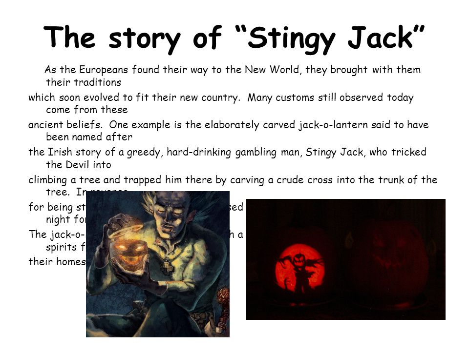 The story of Stingy Jack