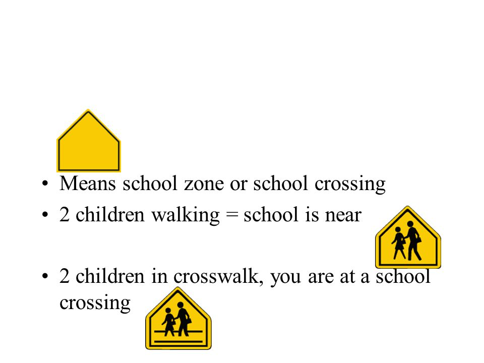 Means school zone or school crossing