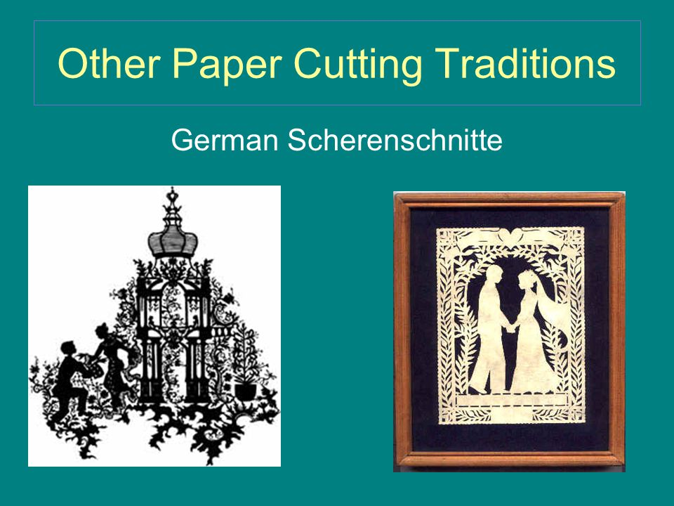 Other Paper Cutting Traditions