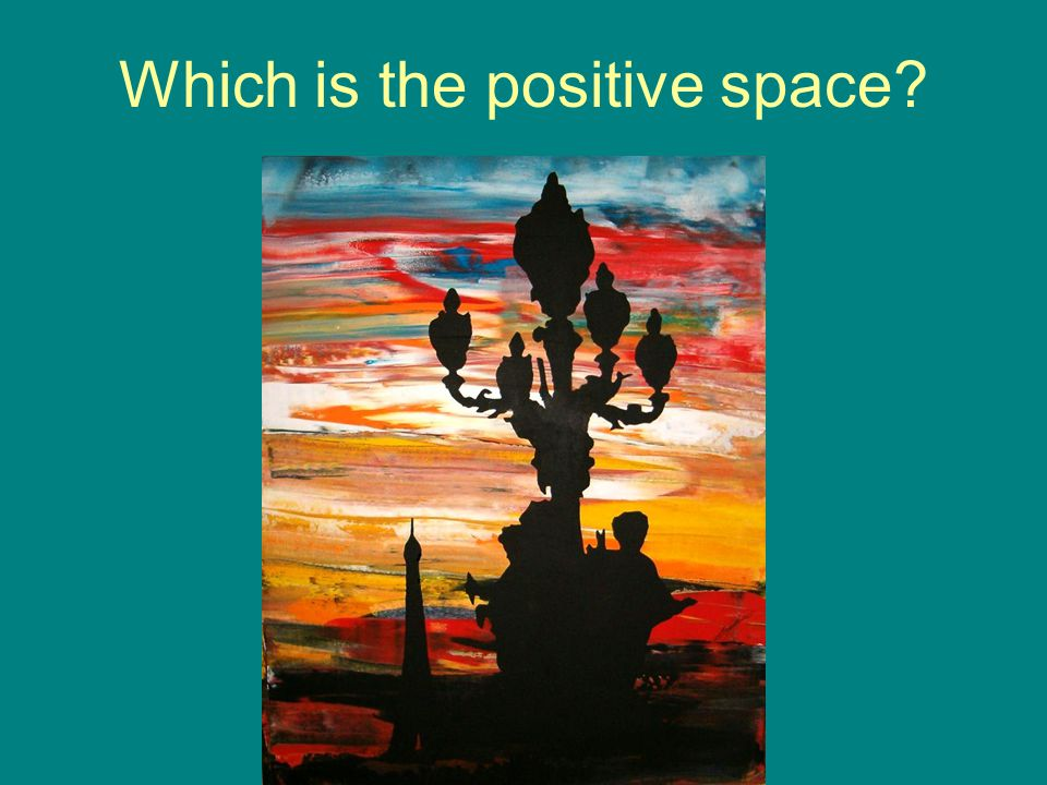 Which is the positive space