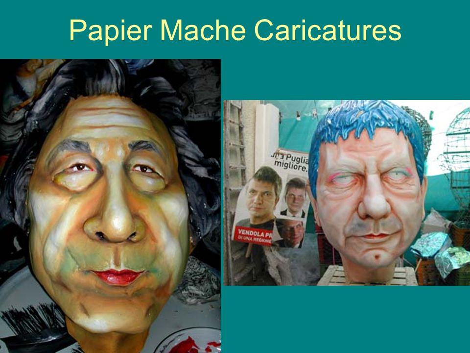 Papier Mache Caricatures