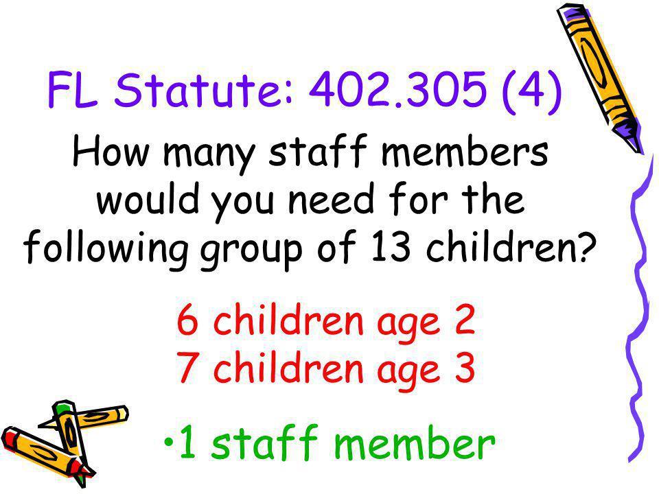 6 children age 2 7 children age 3