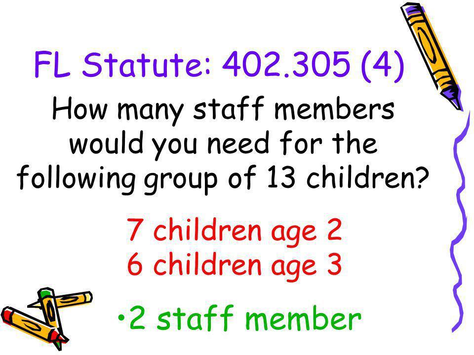 7 children age 2 6 children age 3