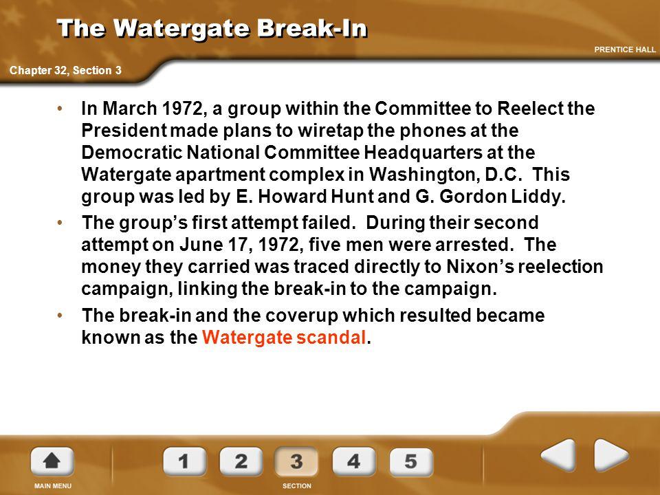 The Watergate Break-In