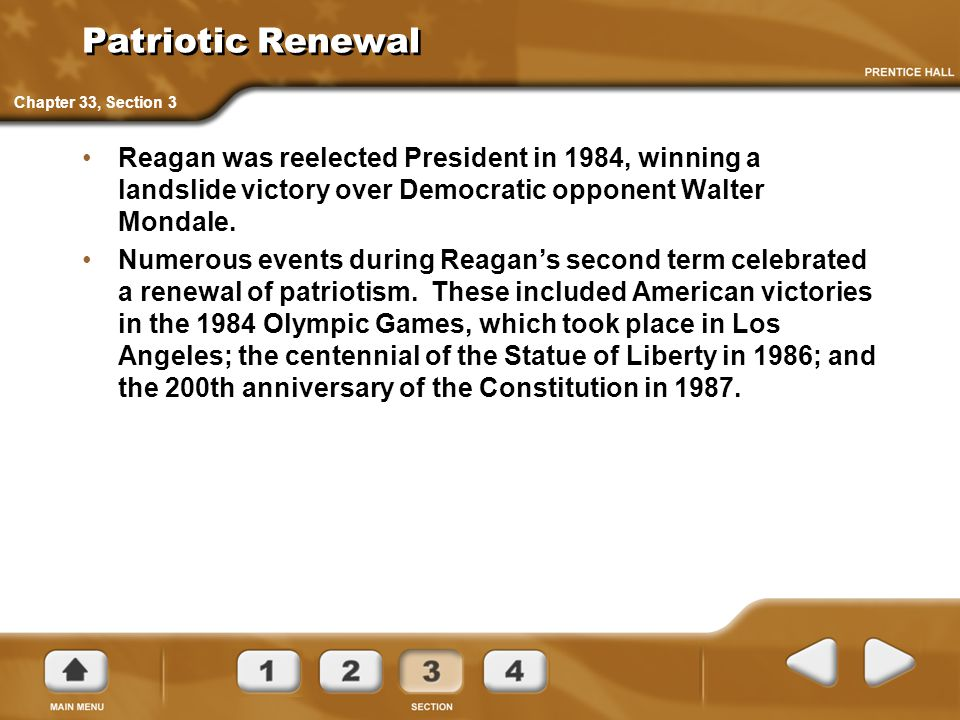 Patriotic Renewal Chapter 33, Section 3.