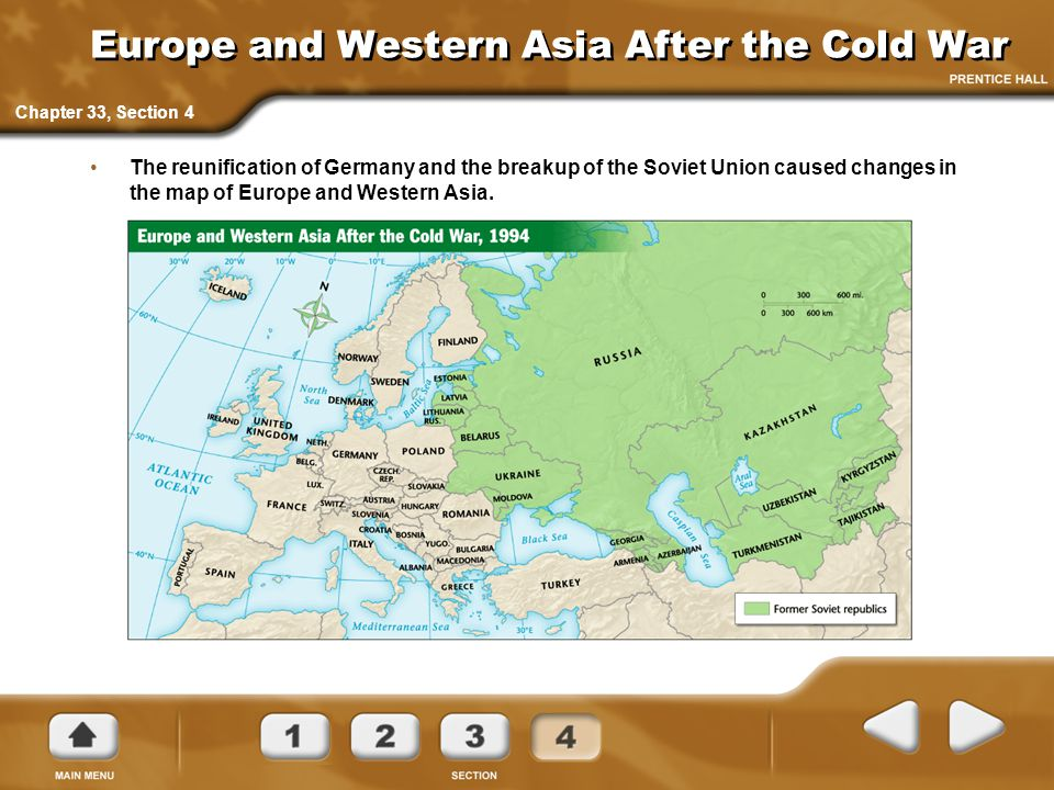 Europe and Western Asia After the Cold War