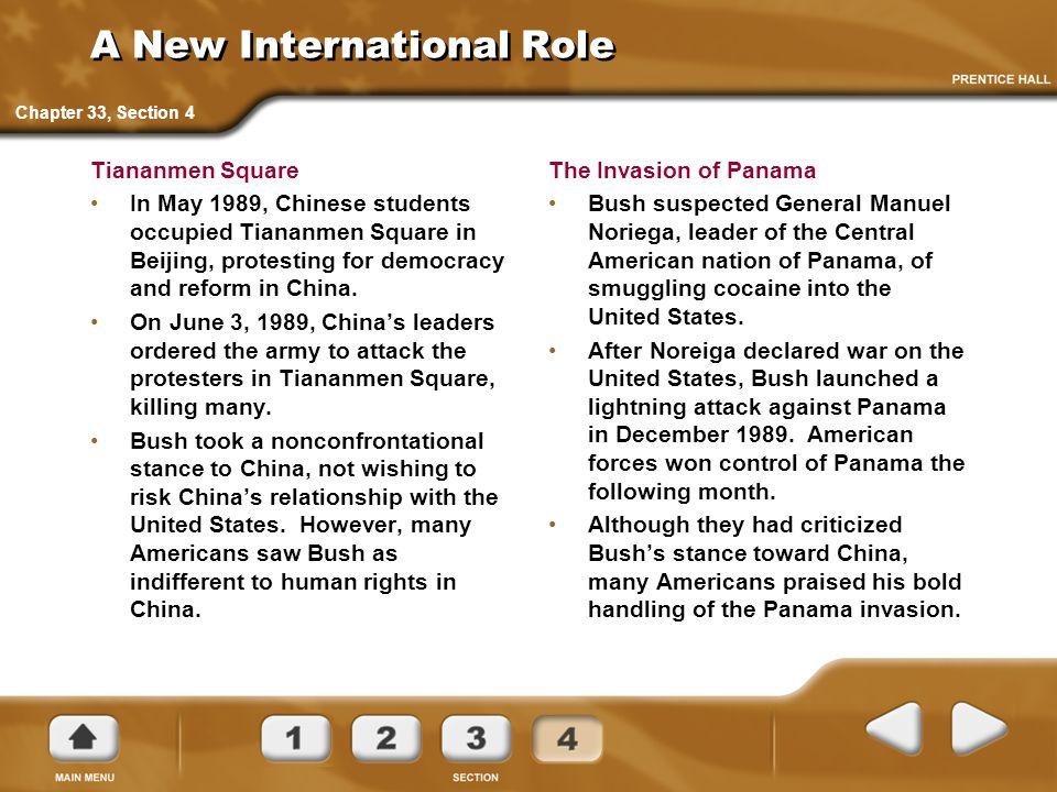 A New International Role