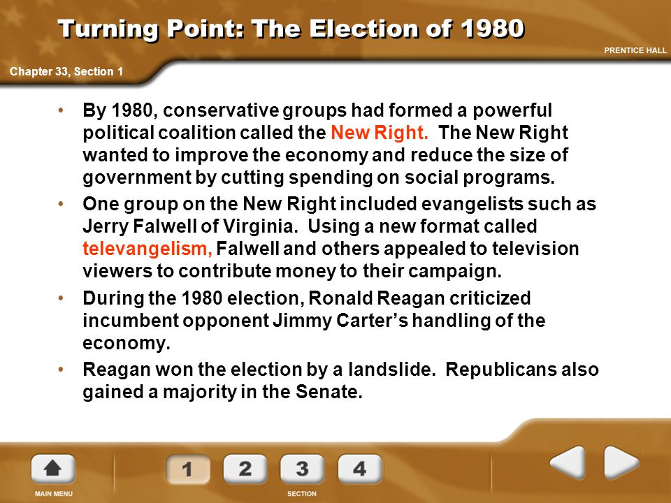 Turning Point: The Election of 1980