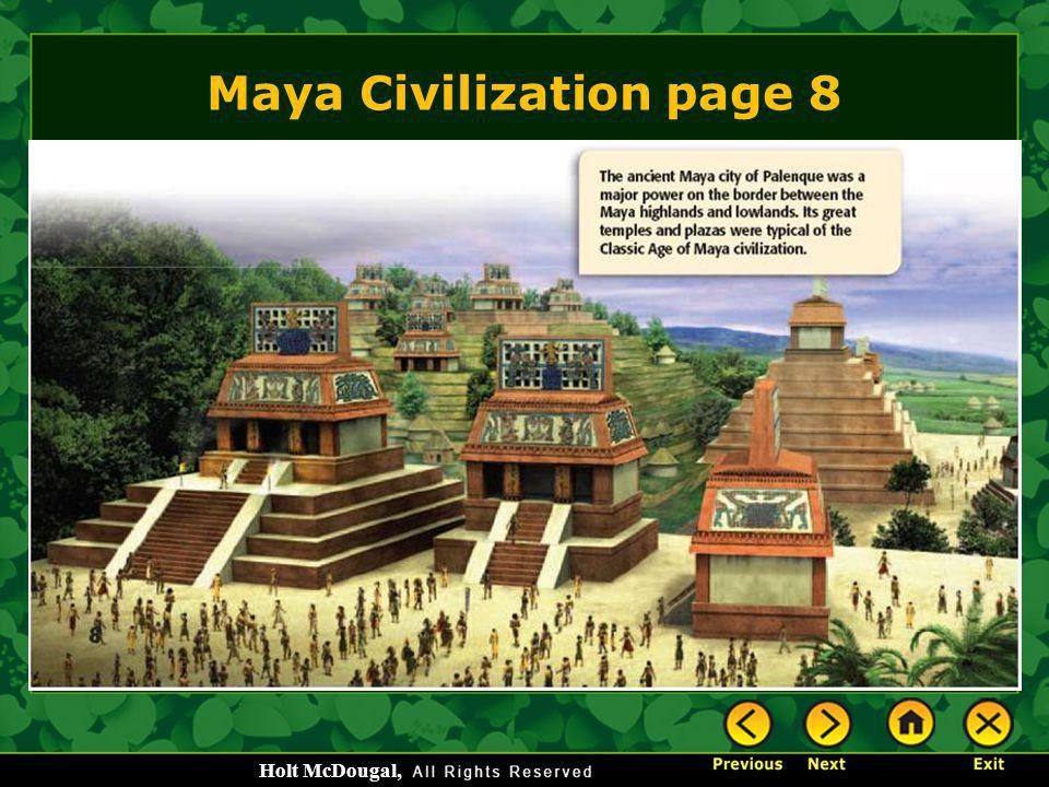 Maya Civilization page 8