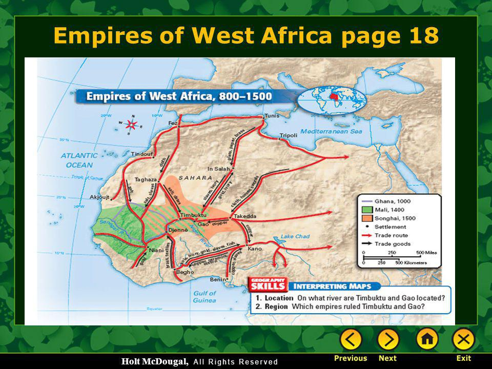 Empires of West Africa page 18