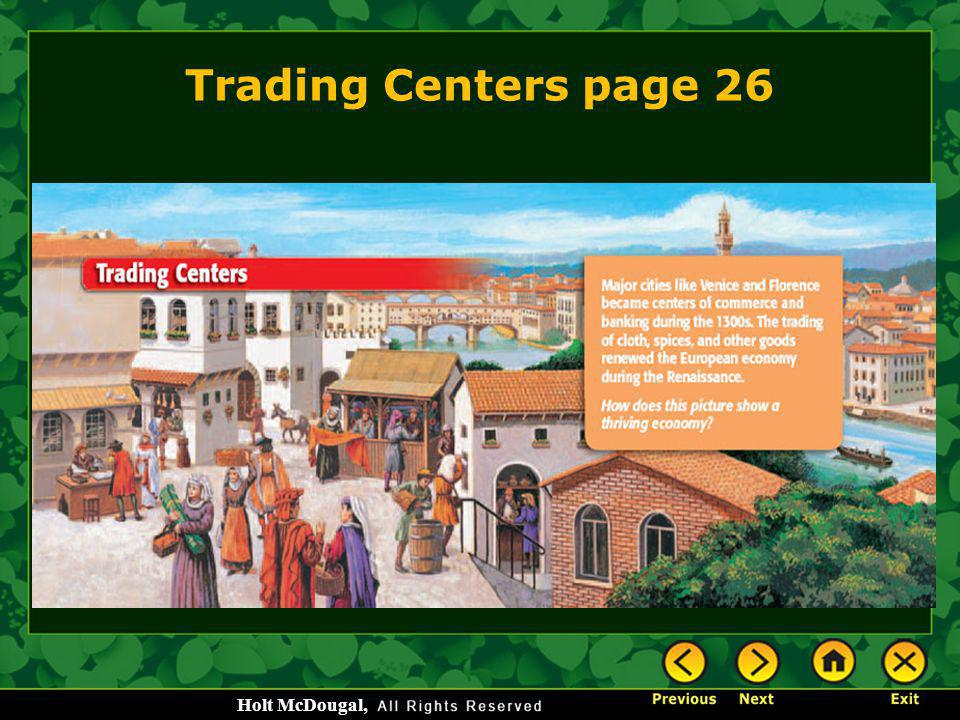 Trading Centers page 26