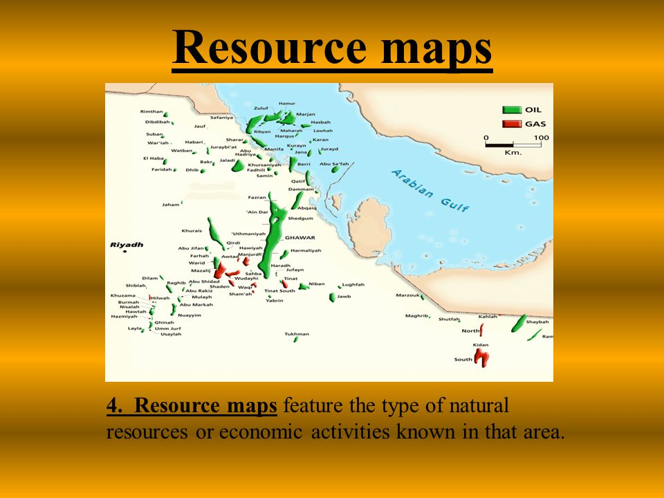 Resource maps 4.