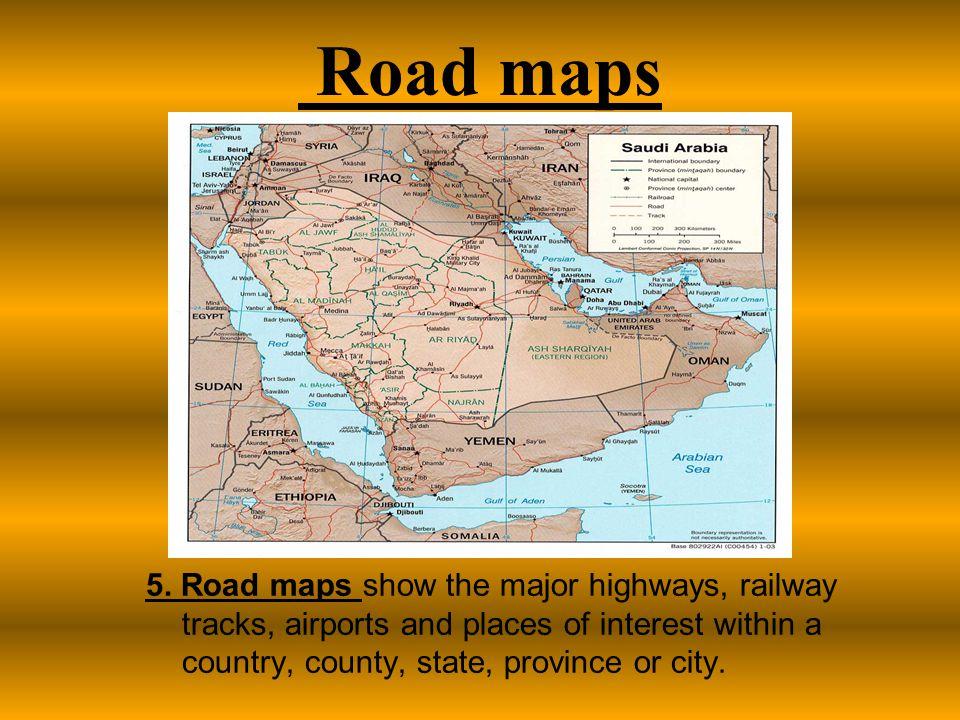 Road maps 5.