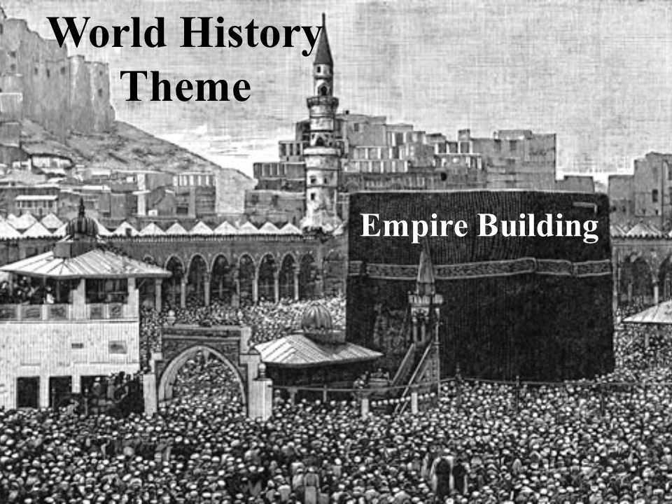 World History Theme Empire Building