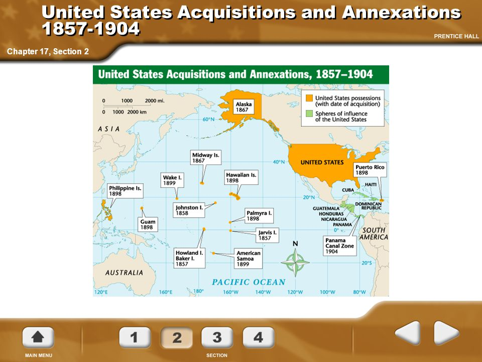 United States Acquisitions and Annexations 1857-1904