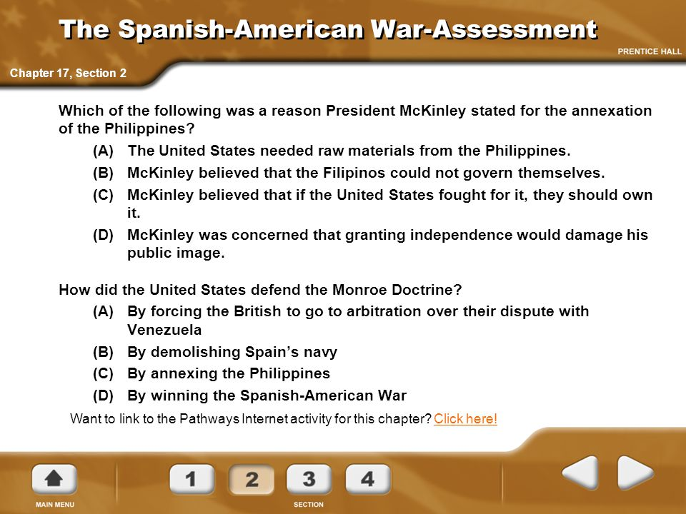 The Spanish-American War-Assessment