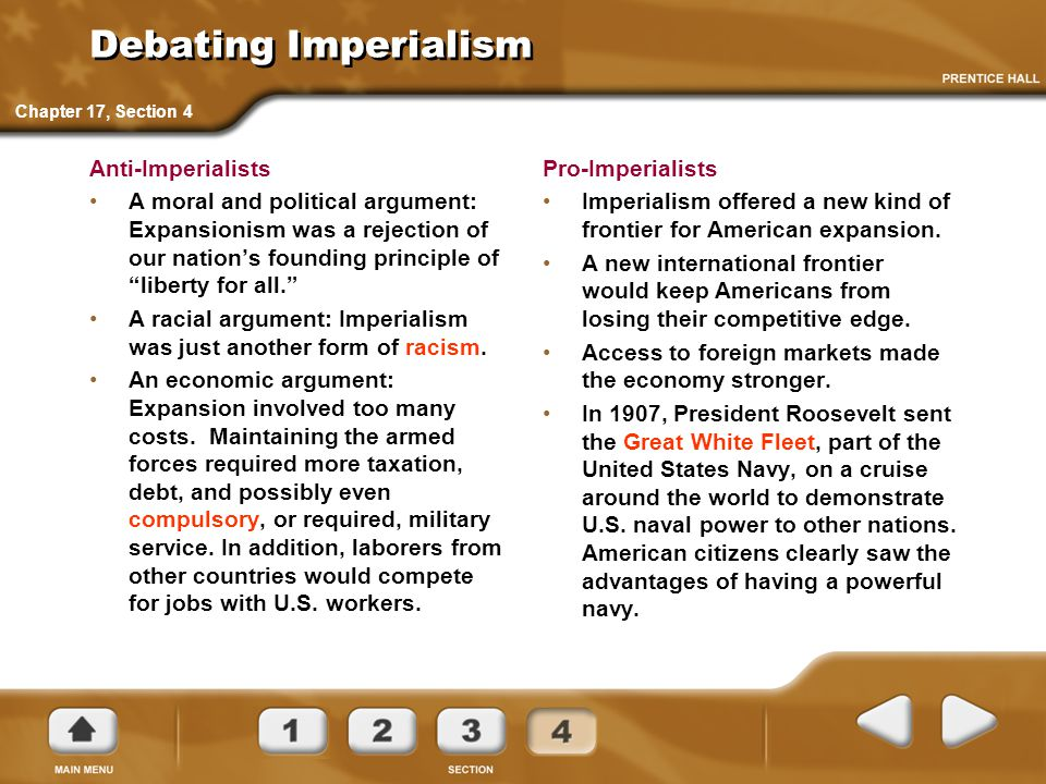 Debating Imperialism Anti-Imperialists