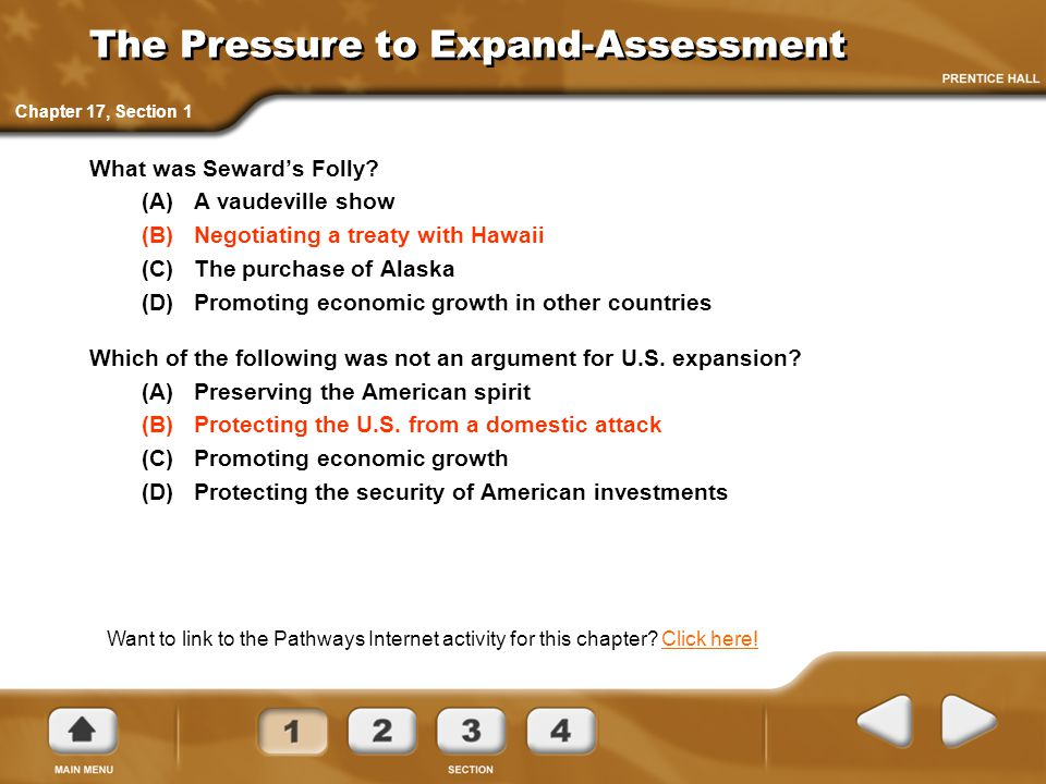 The Pressure to Expand-Assessment