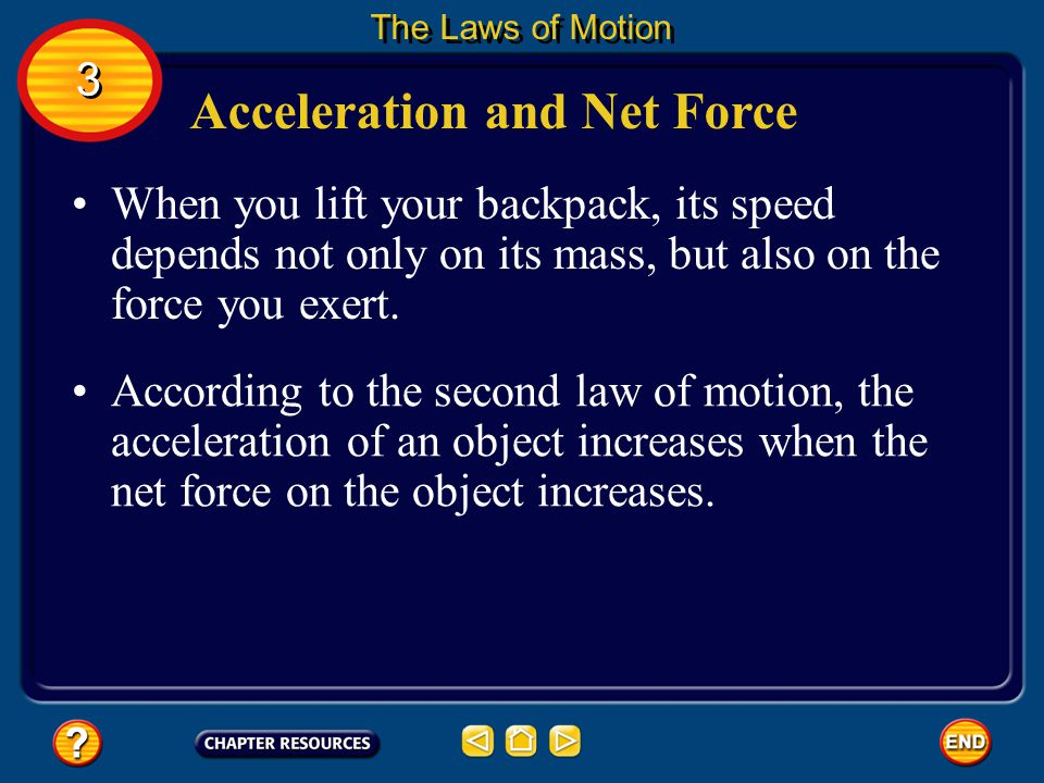 Acceleration and Net Force