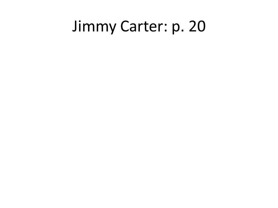 Jimmy Carter: p. 20