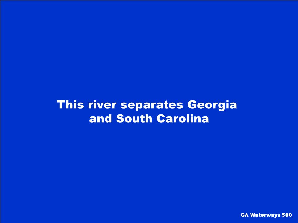 This river separates Georgia