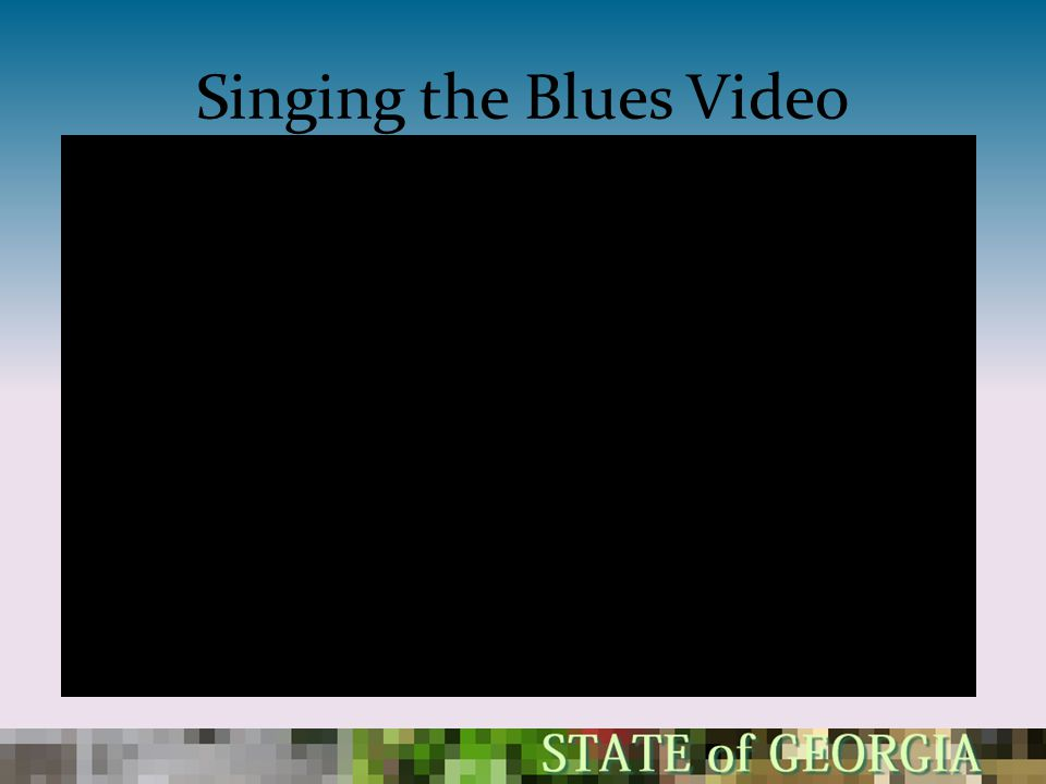 Singing the Blues Video