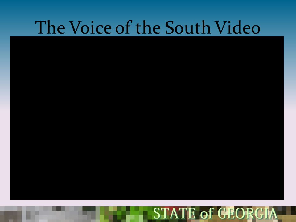 The Voice of the South Video