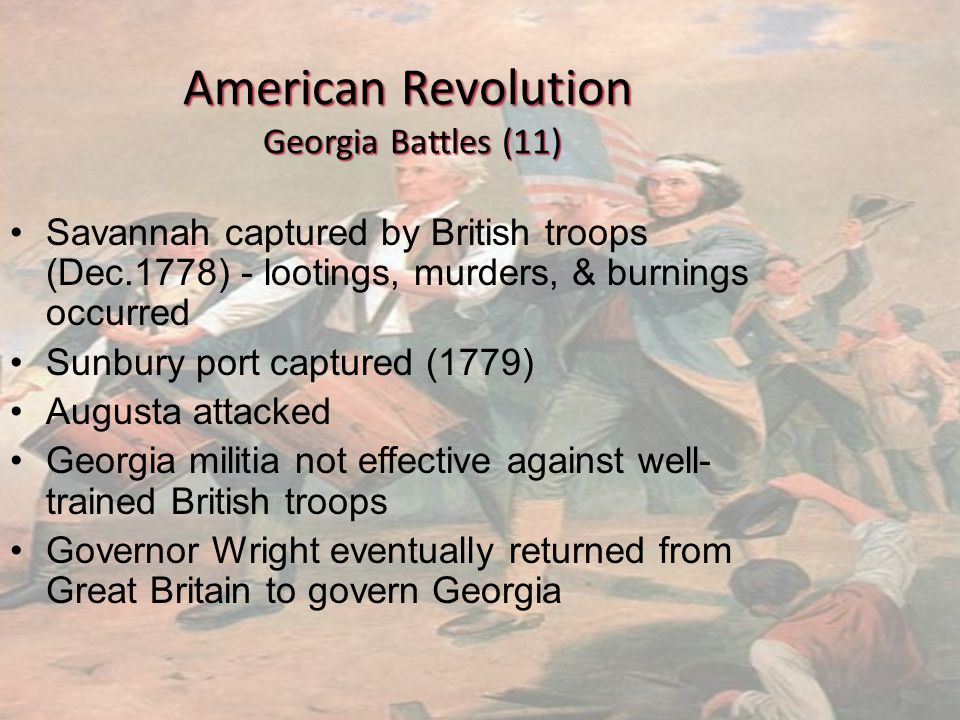 American Revolution Georgia Battles (11)
