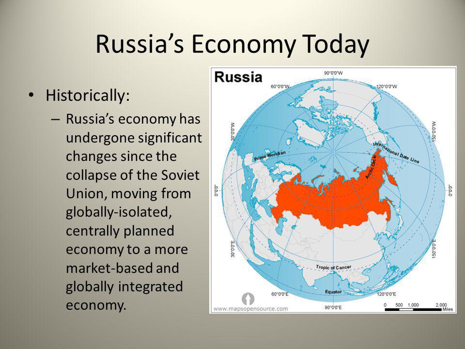 Russia's Economy Today