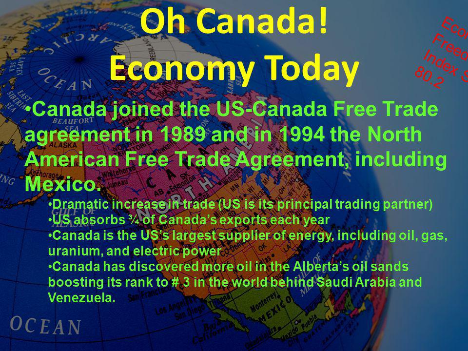 Oh Canada! Economy Today