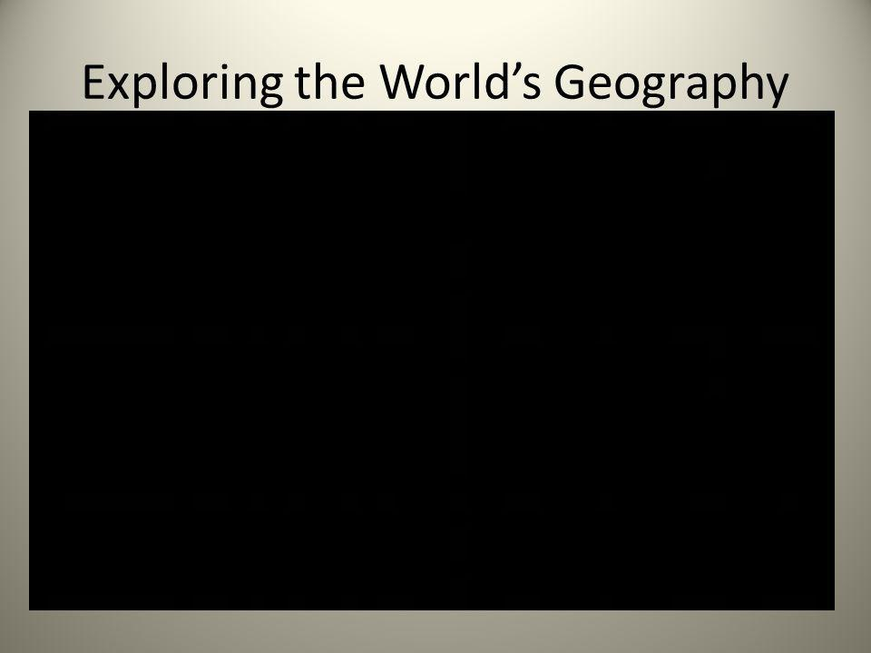 Exploring the World's Geography
