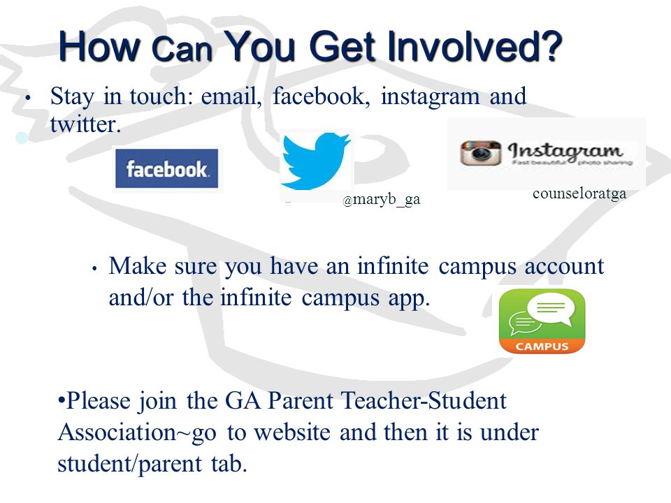 How Can You Get Involved