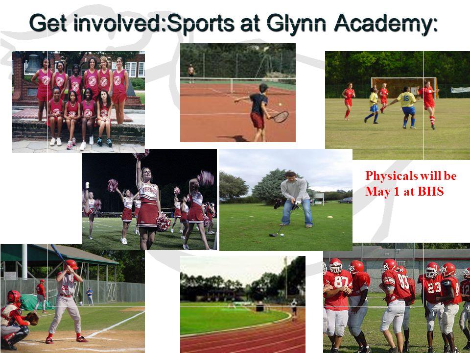 Get involved:Sports at Glynn Academy: