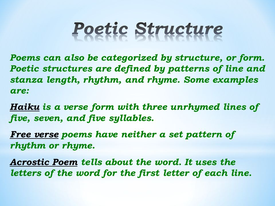 Elements of Poetry. - ppt video online download