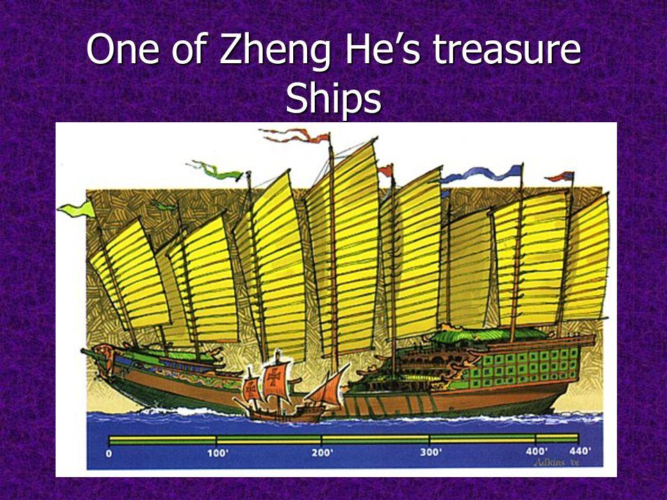 One of Zheng He's treasure Ships