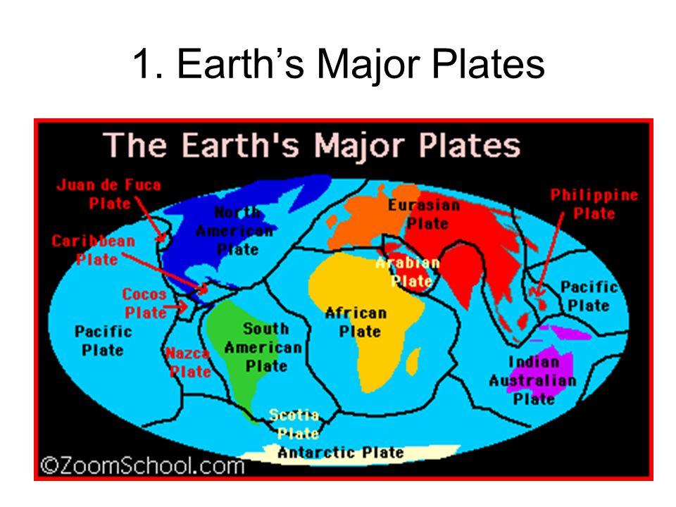 1. Earth's Major Plates
