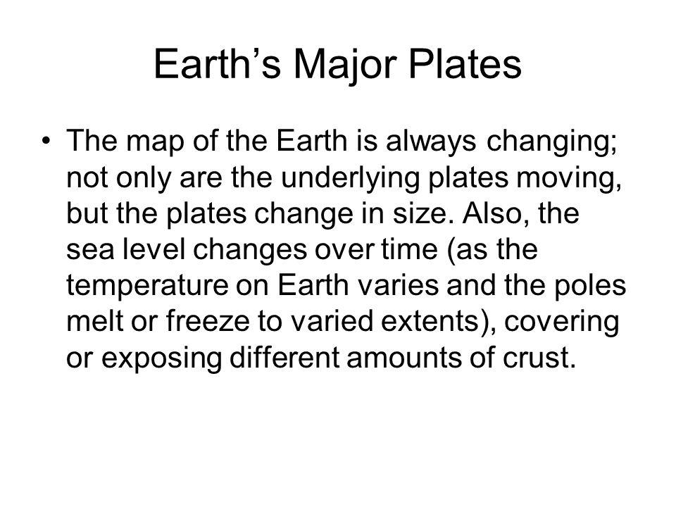 Earth's Major Plates