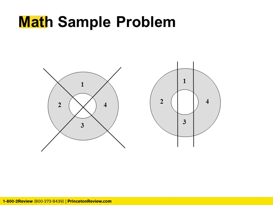 Math Sample Problem 1 1 2 4 2 4 3 3
