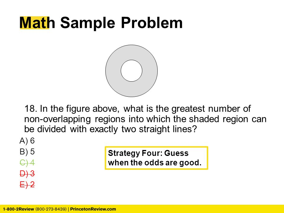 Math Sample Problem