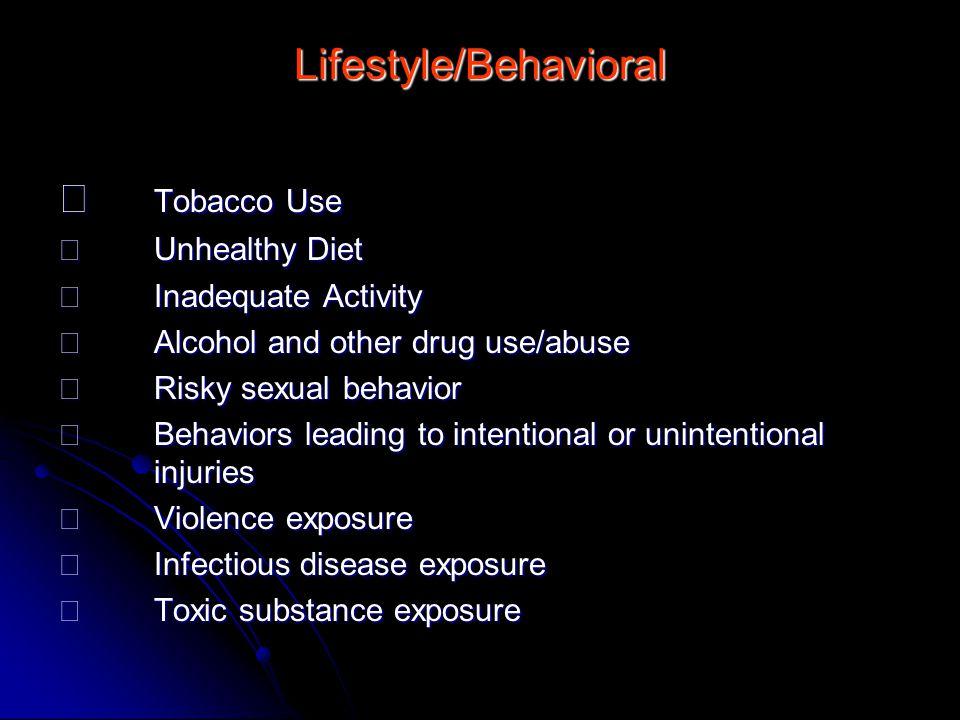 Lifestyle/Behavioral