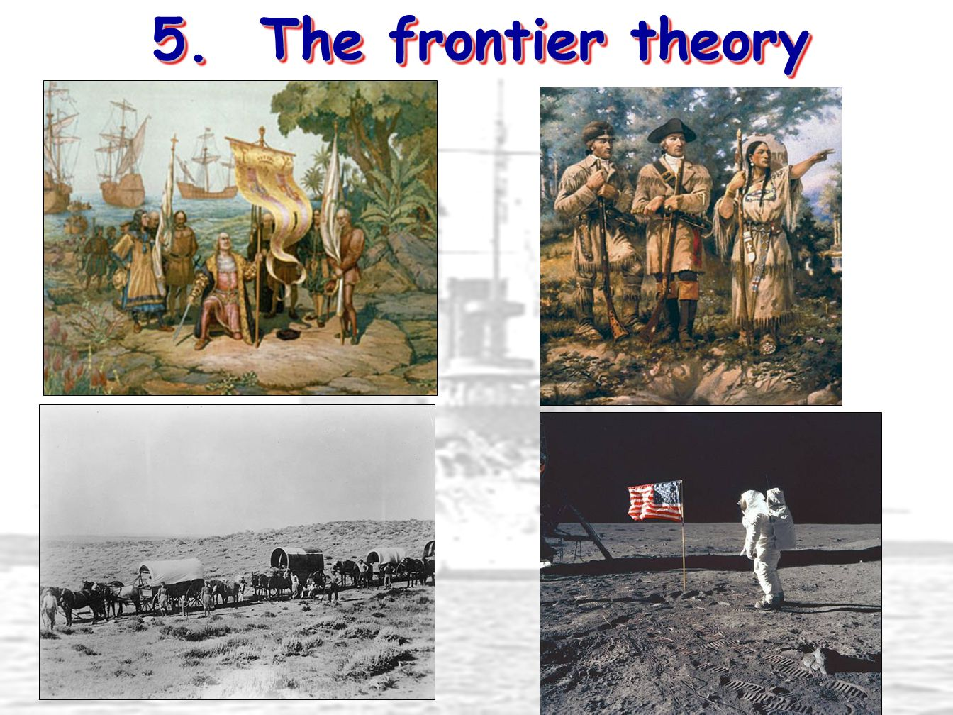5. The frontier theory