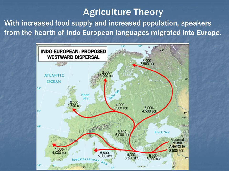Agriculture Theory With increased food supply and increased population, speakers.