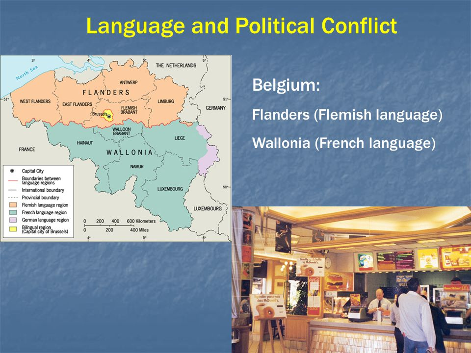 Language and Political Conflict