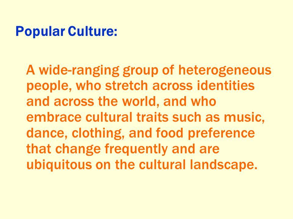 Popular Culture:
