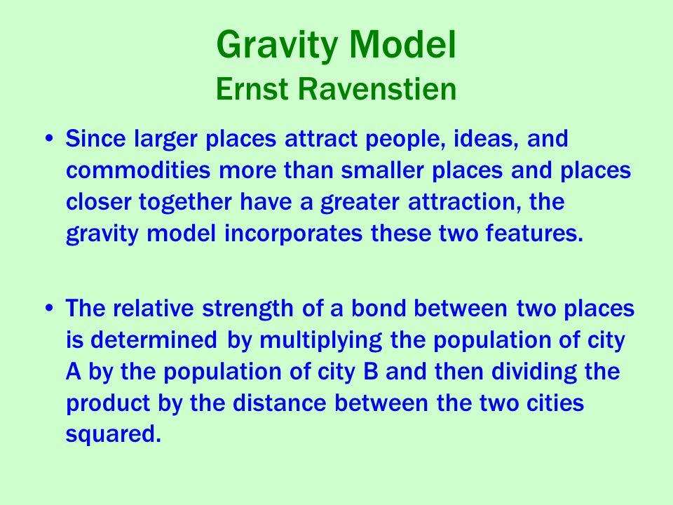 Gravity Model Ernst Ravenstien