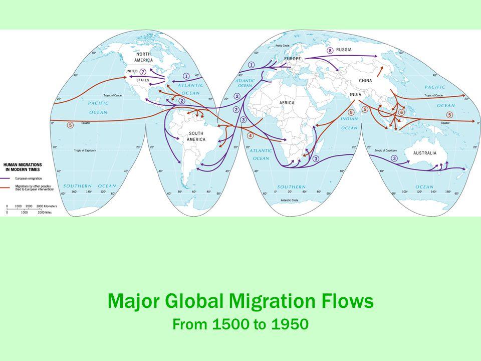 Major Global Migration Flows